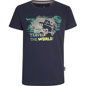 Elkline Abenteuer T-Shirt Kinderen, blueshadow/vw